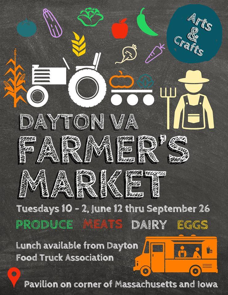 Dayton VA Farmers Market 2018